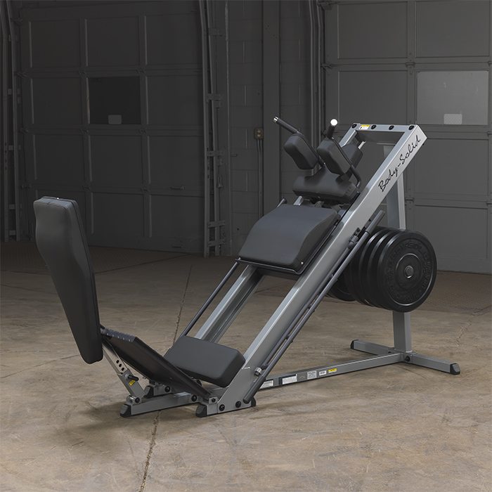 Body-Solid leg press hack squat GLPH1100